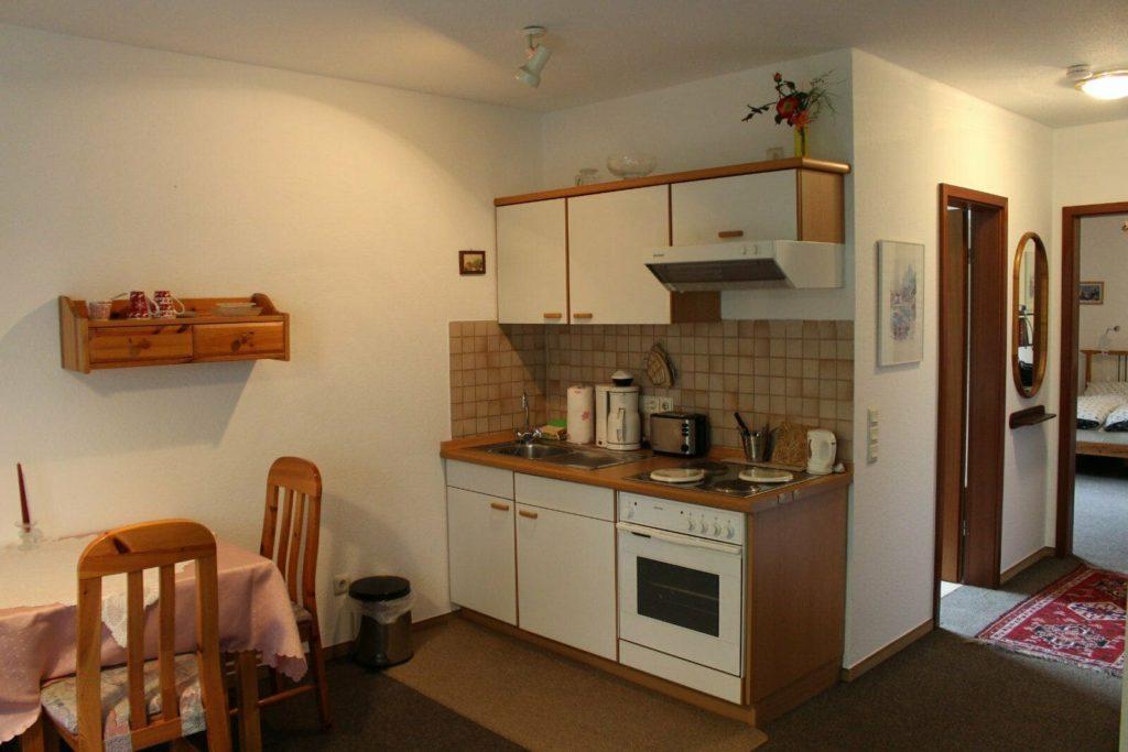 Küche Ferienwohnung Olsberg
